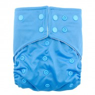 Scutec lavabil microfibra cu elastic dublu   Baby blue