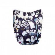 Scutec textil lavabil bambus Alvababy                Happy feet