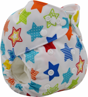 Scutec textil lavabil bambus Alvababy                 Lucky Star