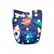 Scutec textil lavabil microfibra    Alvababy              Captain Planet