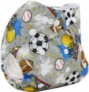 Scutec textil lavabil bambus Alvababy                 Sports Fan